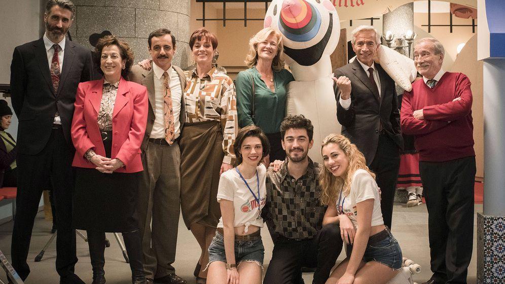 Foto: Parte del elenco de la temporada 20 de 'Cuéntame'. (RTVE)