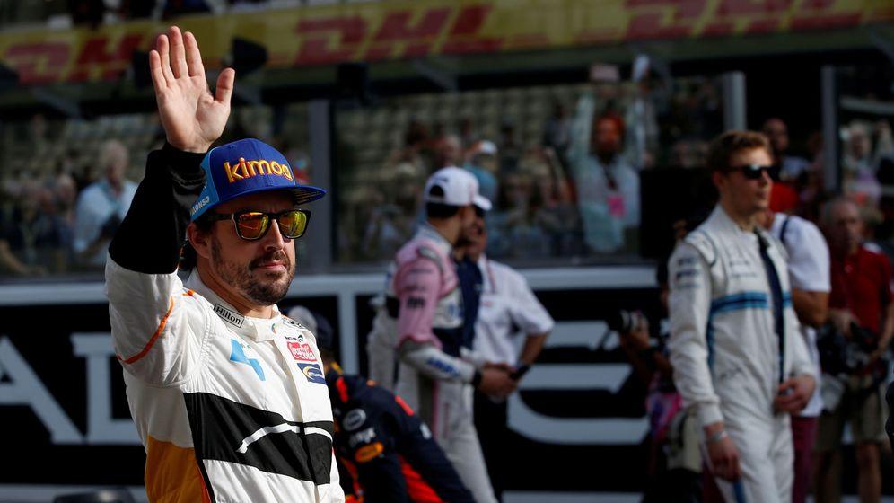 Foto: Fernando Alonso dijo hasta luego a la Fórmula 1. (EFE)