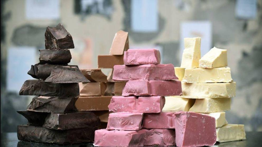 Hasta ahora, había tres clases de chocolate: han inventado una nueva... y es rosa