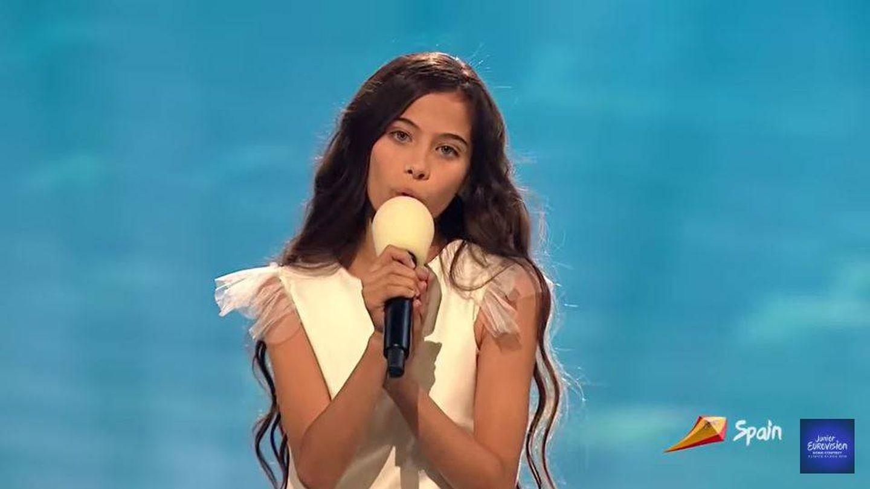 La representante española Melani García. (EurovisionJunior.TV)