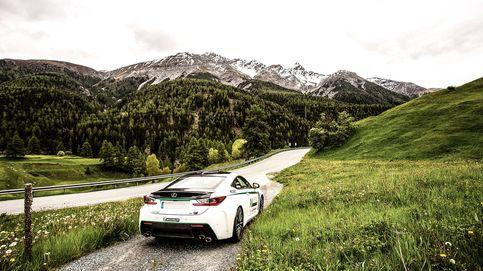 Una ruta alpina con Lexus