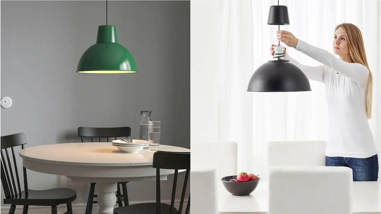 Lámparas de Ikea para tu hogar. (Cortesía)