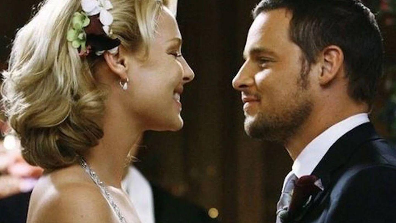 Karev e Izzie, en 'Anatomía de Grey'. (ABC)