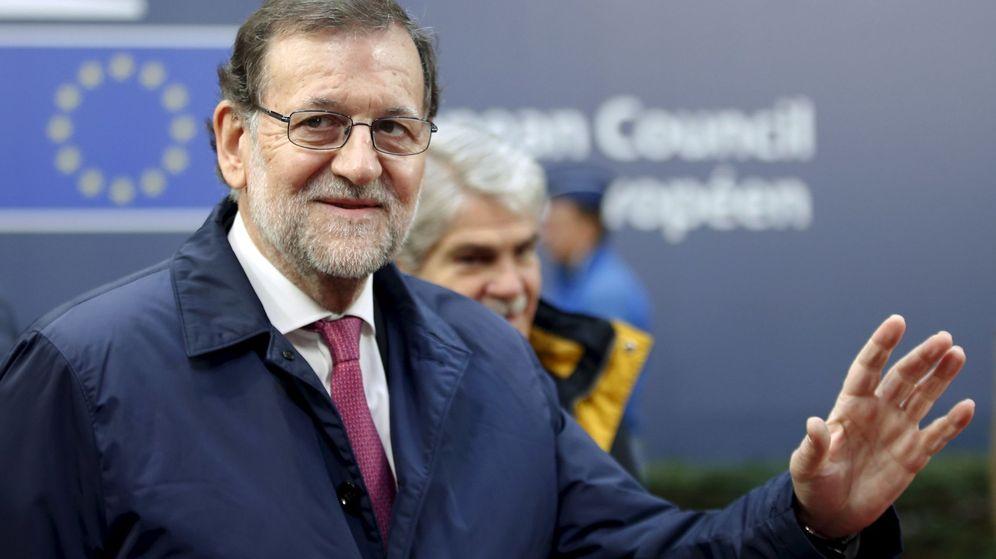 Foto: El presidente del Gobierno, Mariano Rajoy, a su llegada a Bruselas. (Reuters)