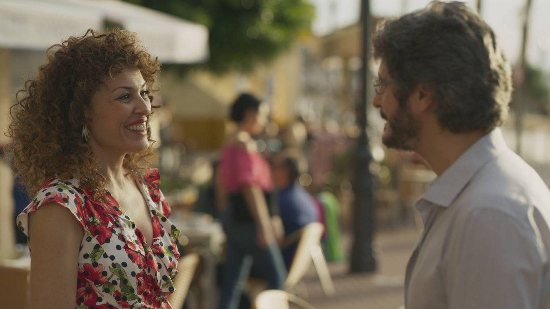 María Almudéver y Antonio Pagudo, en 'Benidorm'. (Atresmedia)