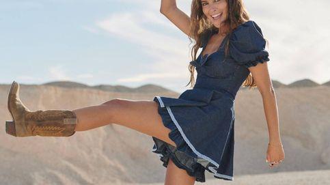 Vestido y botas, el look más recurrente de las influencers para hacer frente al otoño