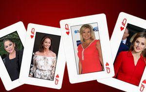 El póker de damas de la prensa del corazón en la actualidad