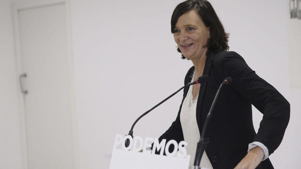 Foto: La secretaria de Análisis y Programa de Podemos, Carolina Bescansa. (EFE)