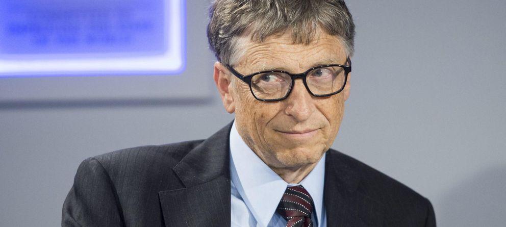 Foto: El fundador de Microsoft Bill Gates no perdona su hora diaria de lectura. (Efe/Jean-Christophe Bott)
