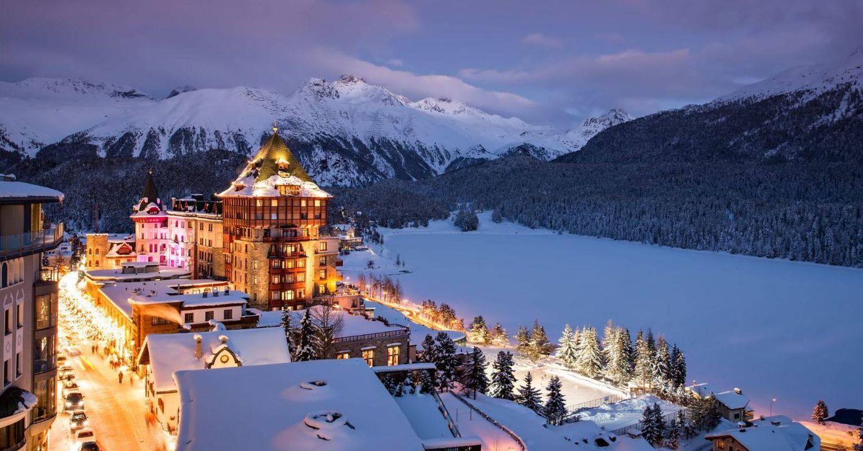 Foto: El Bradutt's Palace en St. Moritz es el colmo del lujo y el glamour invernal, aunque también triunfa en verano