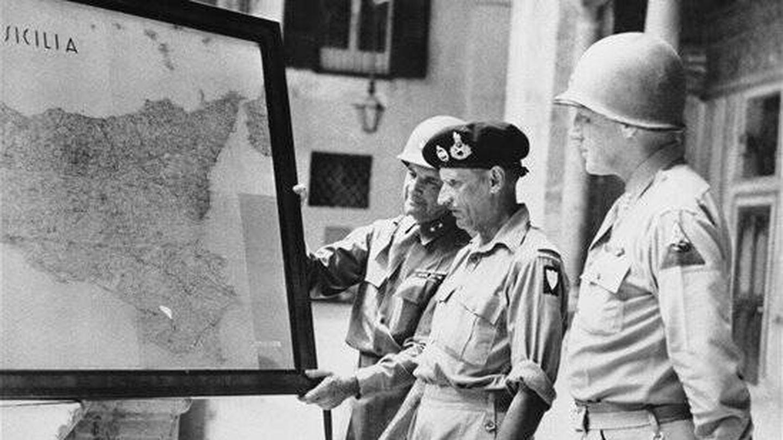 Operación Husky, el desembarco en Sicilia con el mariscal Montgomery.