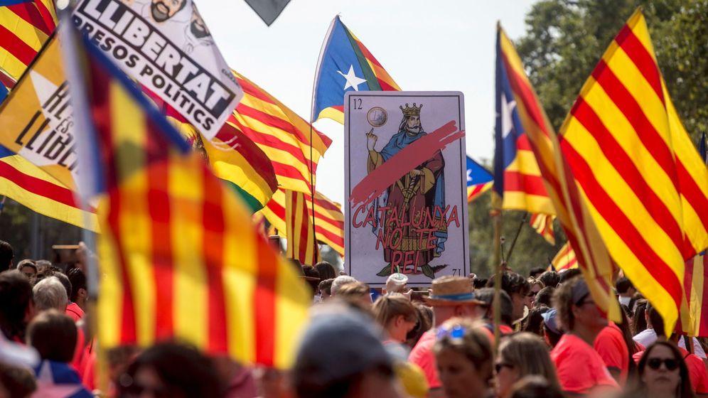 Foto: Manifestación de la Diada en Barcelona. (EFE)