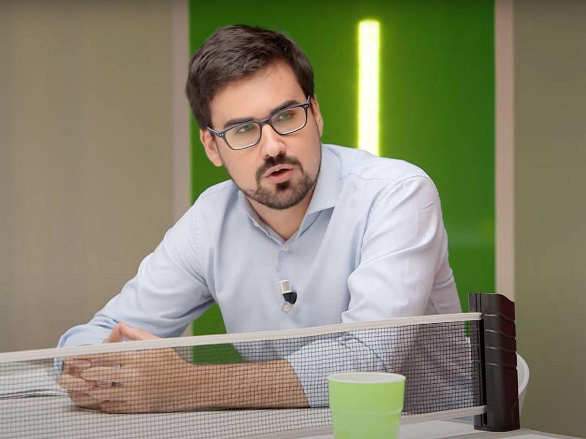 Foto: Guillermo del Valle, fundador de 'El Jacobino'. (RTVE)