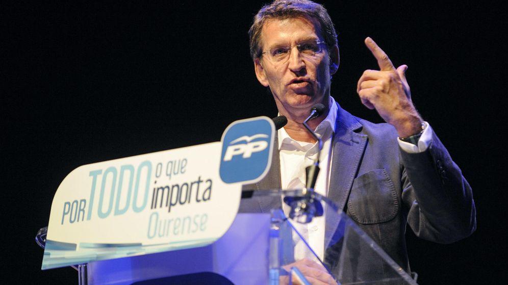 Foto: El presidente de la Xunta, Alberto Núñez Feijóo