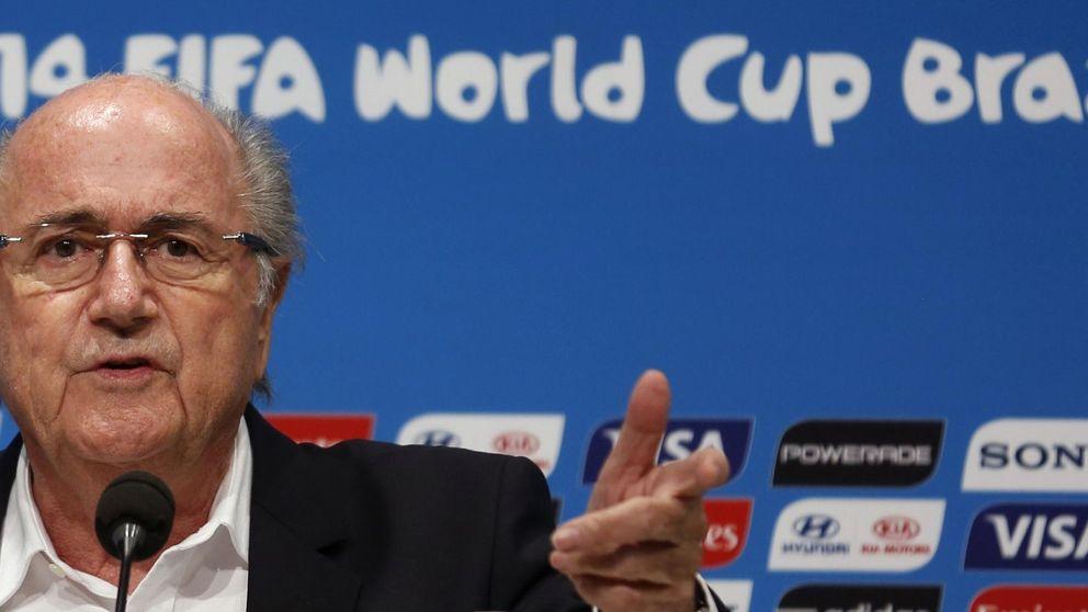 Blatter no se 'baja' de la FIFA y quiere vídeo durante los partidos