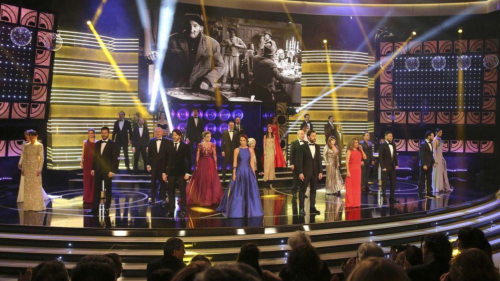 Foto: Imagen de la última gala de los premios Goya 2015. (EFE)