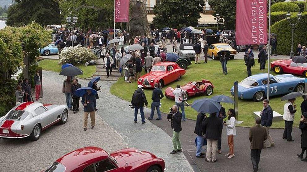 Bugatti 57 SC Atlantic, la estrella en Villa D'Este