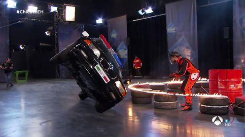 Accidente de coche en 'El hormiguero' durante uno de sus ensayos