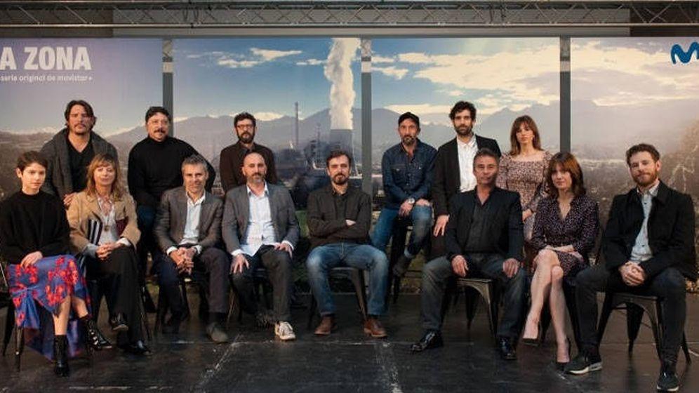 Foto: El reparto de 'La zona'.