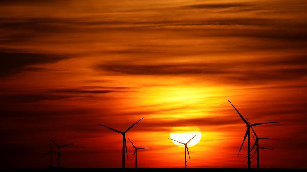 Foto: Foto de archivo de un parque eólico. (Reuters)