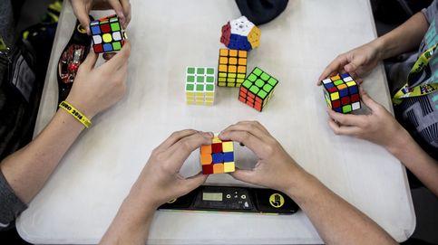Londres celebra su campeonato de Cubo de Rubik