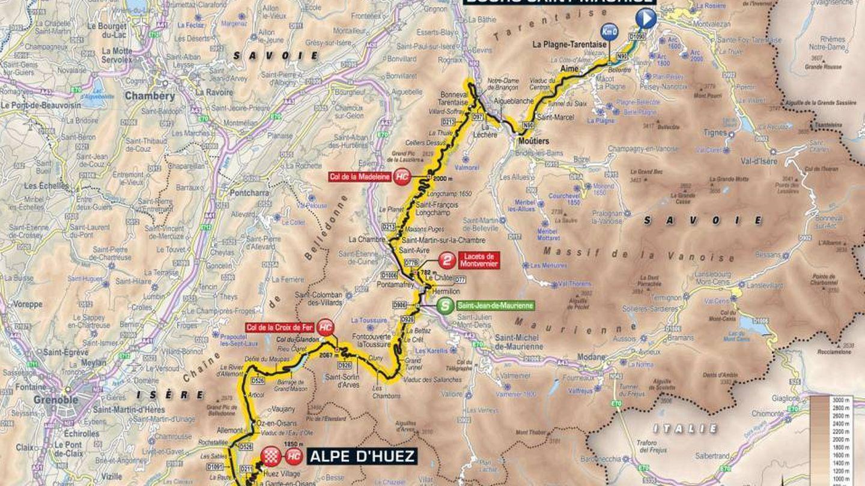 Recorrido de la duodécima etapa | Tour de Francia 2018