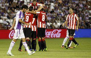 El Athletic se mueve al ritmo de Beñat en su victoria ante el Valladolid
