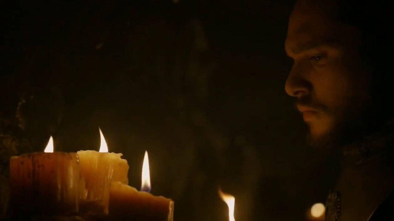 Jon Snow en las criptas de los Stark. (HBO)