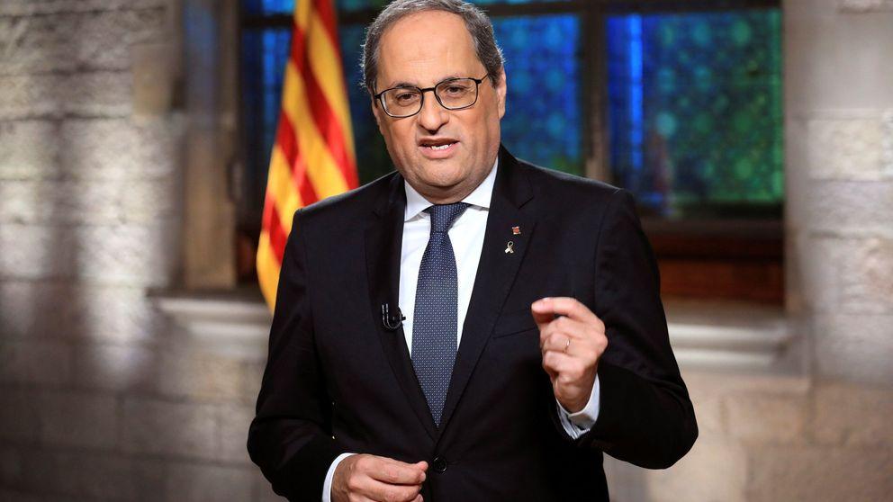 Torra reclama a Felipe VI y a Pedro Sánchez disculpas por el fusilamiento de Companys