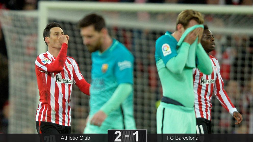 El cabreo de Messi con Fernández Borbalán no puede con el Athletic