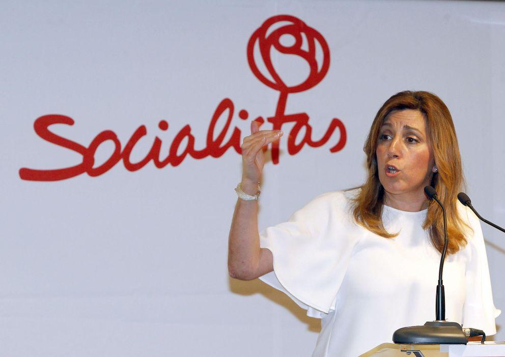 Foto: La presidenta de la Junta de Andalucía, Susana Díaz, el pasado miércoles, en Las Palmas. (EFE)