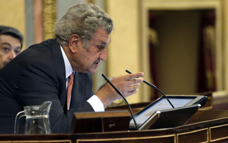 El presidente saliente del Congreso de los Diputados Jesús Posada. (EFE)
