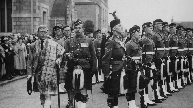 Eduardo VIII en 1936, durante su breve periodo de reinado. (Getty)