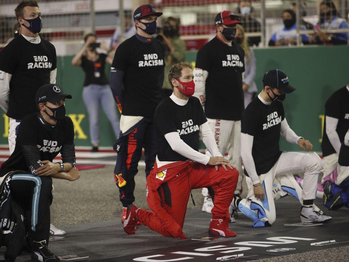 Foto: La Fórmula 1 trabajará en tres pilares fundamentales para impulsar políticas de concienciación social (EFE)