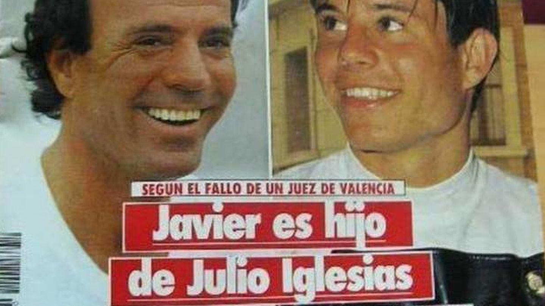 Javier Sánchez y Julio Iglesias, en una portada retrospectiva de 'Semana'.