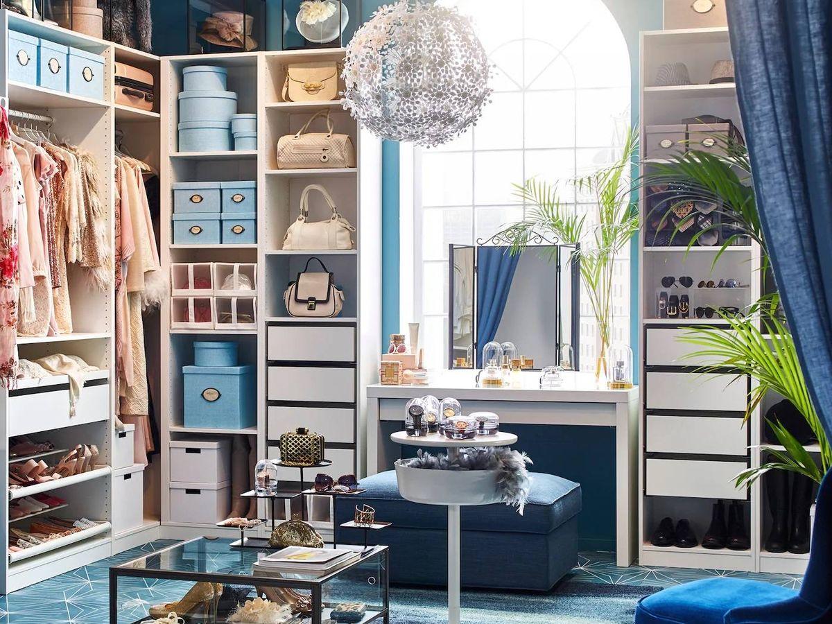 Foto: Organiza tus armarios con Ikea. (Cortesía)