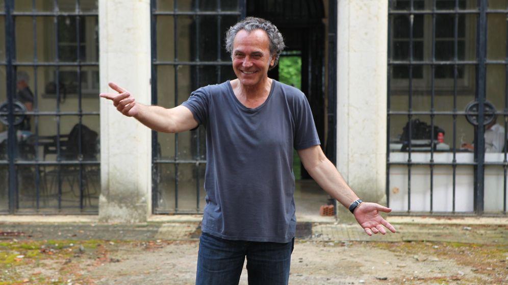 Foto: El actor durante el rodaje de la película 'Secuestro' (Gtres)
