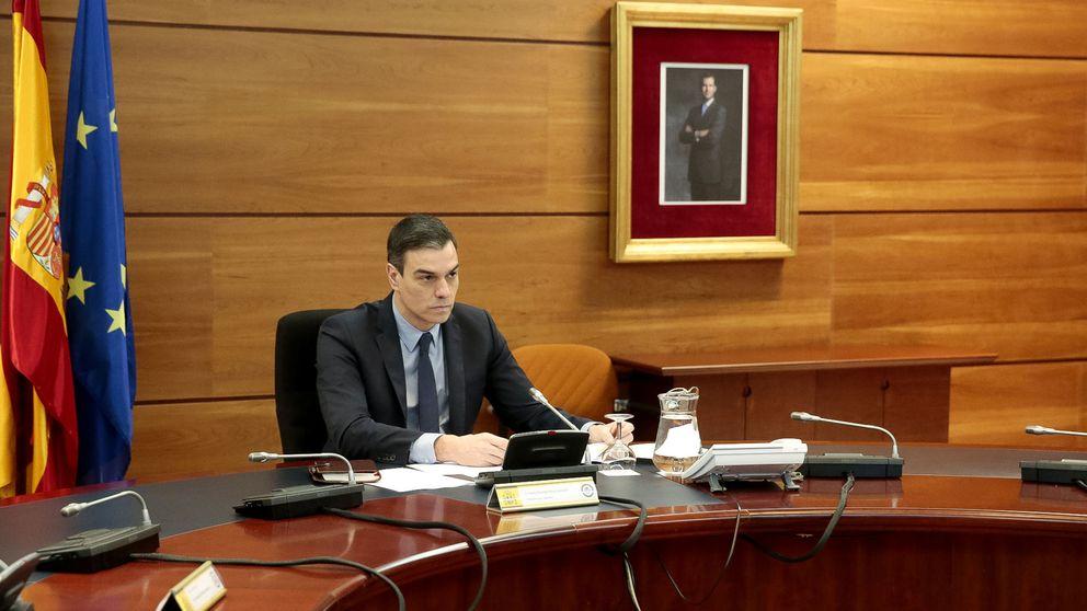 Pedro Sánchez contra el presidente del Gobierno