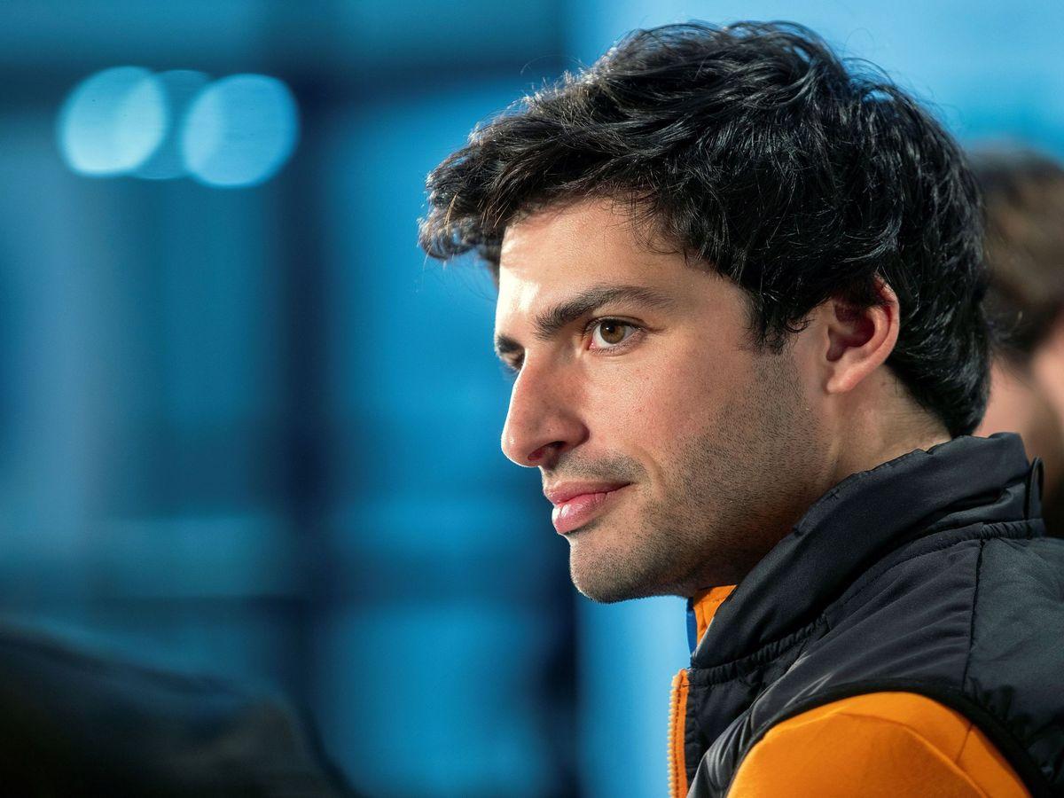 Foto: Carlos Sainz cambiará el naranja de McLaren por el rojo de Ferrari. (EFE)