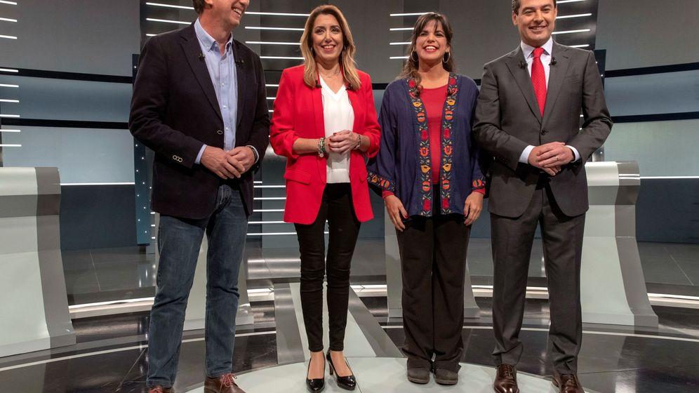 Foto: Candidatos elecciones andalucÍa en debate electoral