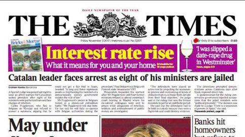 El Govern cesado en prisión, de 'The Independent' a 'The Times' pasando por 'Le Figaro'
