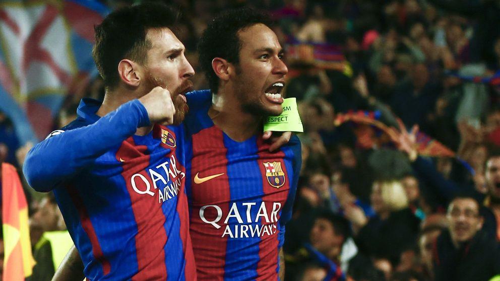 Neymar, un paso al frente para ocupar el trono de Messi