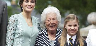 Post de La visita de Telma Ortiz a Asturias para ver a su abuela, Menchu Álvarez