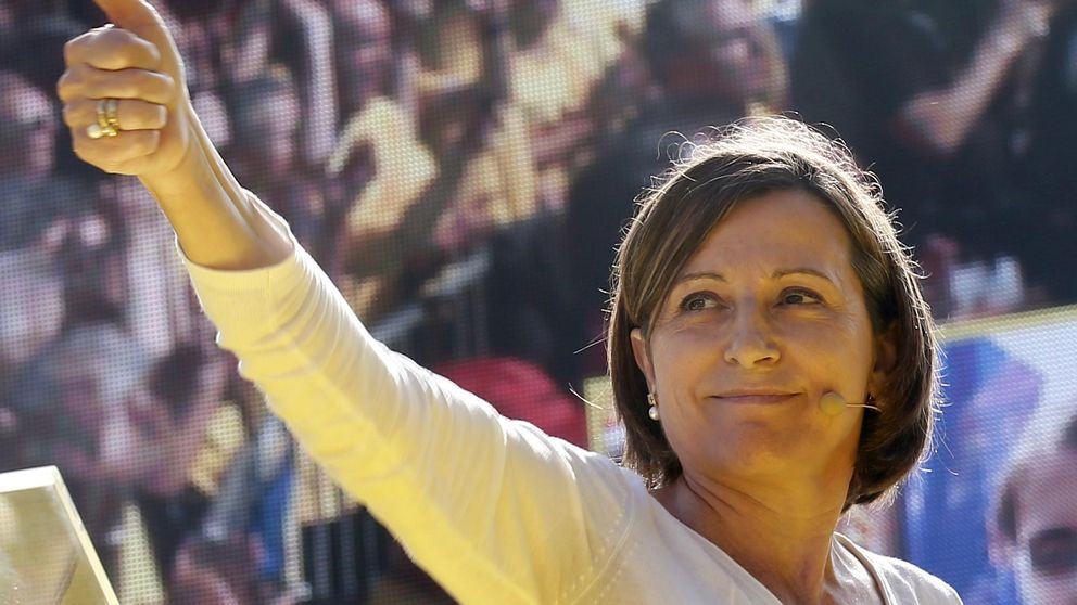 Forcadell, la ambiciosa 'primera dama' de Cataluña, 'traicionada' por Mas