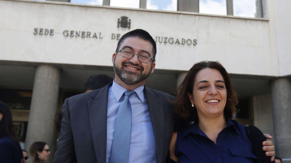 Foto: Los exconcejales del Ayuntamiento de Madrid Carlos Sánchez Mato y Celia Mayer. (EFE)