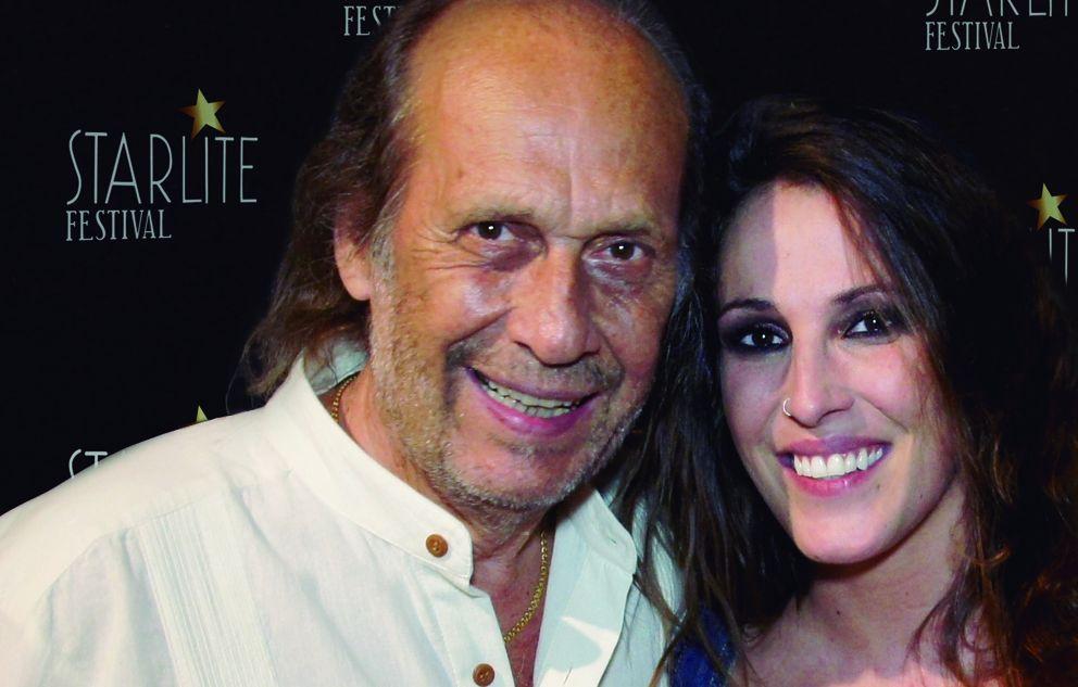 Paco de Lucía y Malú en el Festival Starlite en agosto del 2013