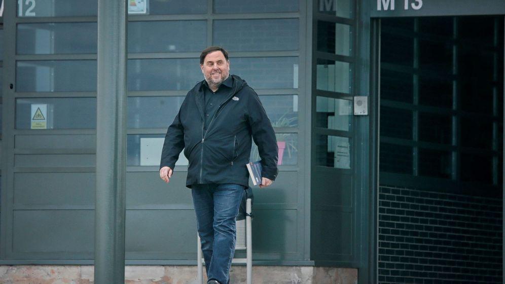 Foto:  El exvicepresidente de la Generalitat Oriol Junqueras (EFE)