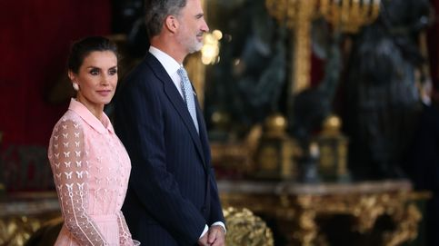 Letizia, entre reinas (de las mañanas): todas las imágenes de la recepción del 12-o