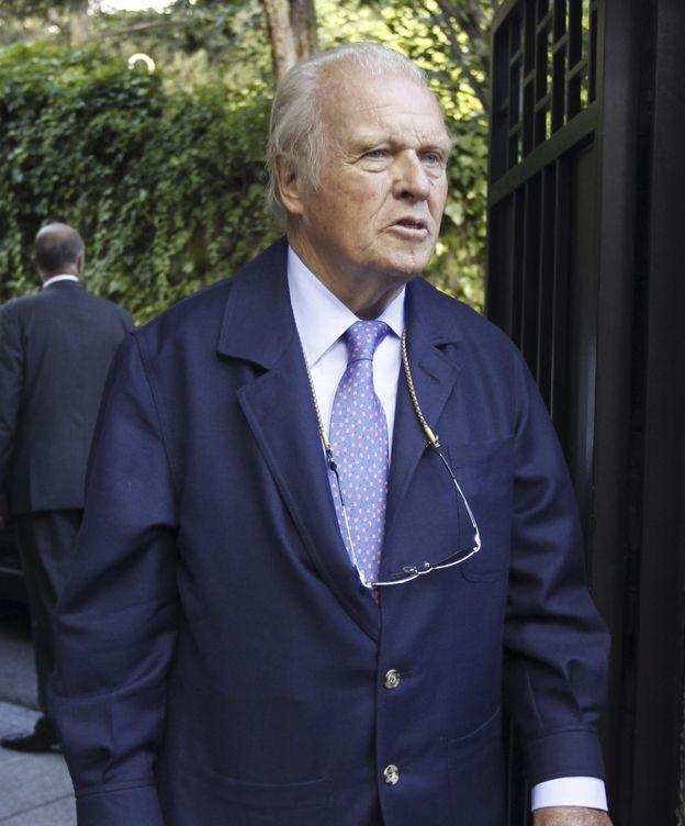 Foto: El ex presidente de BBVA, Emilio Ybarra
