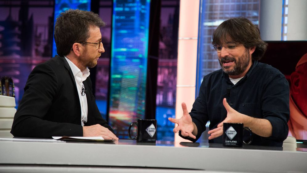 Foto: Jordi Évole en 'El hormiguero'. (7yAcción)